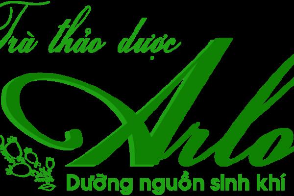 logo trà thảo dược arlo