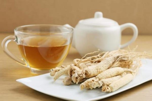 Trà nhân sâm, thức uống bổ dưỡng cho người trung niên
