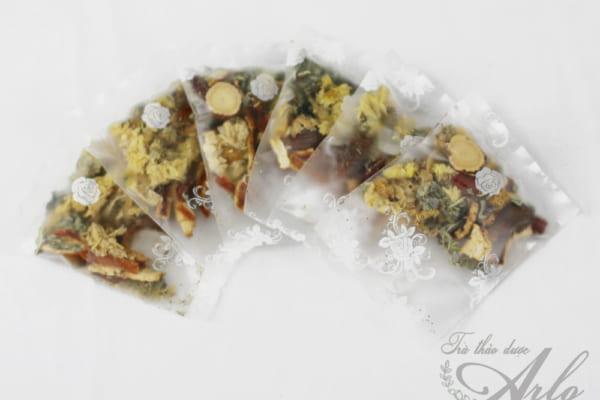 trà hoa cúc đóng gói