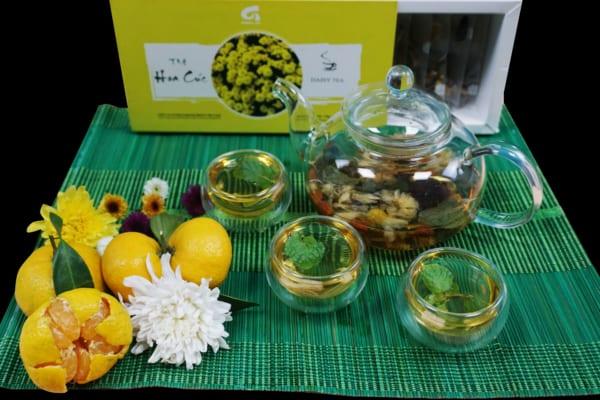 Trà hoa cúc Khánh Phong